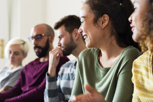 group participates in evidence based therapy for addiction